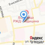 Средняя общеобразовательная школа №24 на карте Астрахани