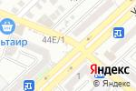 Схема проезда до компании Уголок в Астрахани