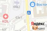 Схема проезда до компании Гамма мебель в Астрахани