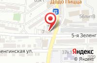 Схема проезда до компании Триал Свет в Астрахани