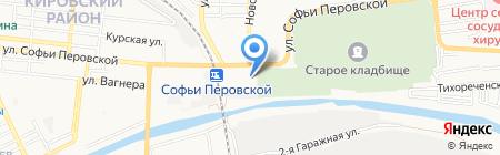 Мистер Авто на карте Астрахани