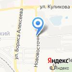 Приветливый на карте Астрахани