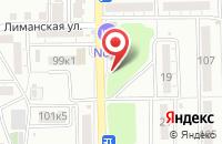 Схема проезда до компании Атака в Астрахани