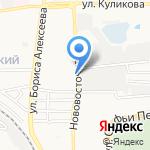 Настенька на карте Астрахани