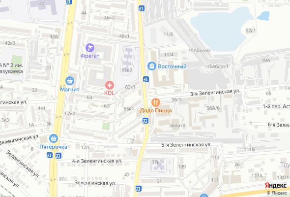 купить квартиру в ЖК ул. 3- я Зеленгинская