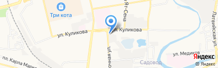Шашлычный мир на карте Астрахани