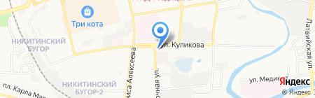 Молодежная Управляющая компания на карте Астрахани