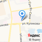 Областной онкологический диспансер на карте Астрахани