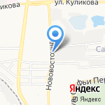 Kontrast Promenad на карте Астрахани