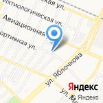 Остров знаний на карте Астрахани