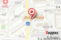Схема проезда до компании Пекарня в Астрахани
