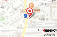 Схема проезда до компании ЁЖИКИ в Астрахани