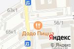 Схема проезда до компании Электро в Астрахани