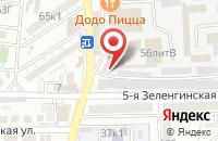 Схема проезда до компании Дачный мир в Астрахани