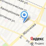 Болдинский на карте Астрахани