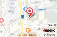 Схема проезда до компании Пупс в Астрахани