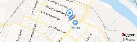 Хлебокондитерский магазин на карте Астрахани
