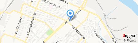 Ивушка на карте Астрахани