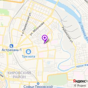 ЛДЦ МИБС Астрахань на карте
