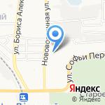 Кира на карте Астрахани