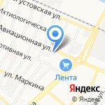 Компания по продаже уличной иллюминации на карте Астрахани
