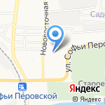 Астраханский Домостроительный Комбинат на карте Астрахани