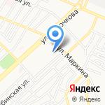 Болдинская на карте Астрахани