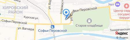 Лита на карте Астрахани