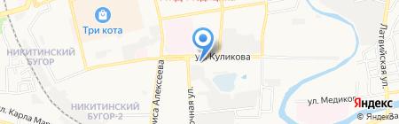 Центр дополнительного образования детей №4 на карте Астрахани