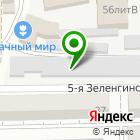 Местоположение компании Гаражный кооператив №1