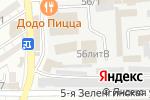 Схема проезда до компании Астрахань-Текс в Астрахани
