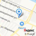АвтоМикс на карте Астрахани