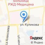 Автограф на карте Астрахани