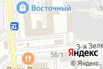 Схема проезда до компании Автодуэт в Астрахани