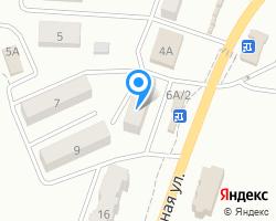 Схема местоположения почтового отделения 416343