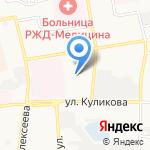 Автосервис №1 на карте Астрахани