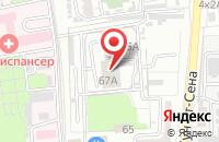 Схема проезда до компании Drive в Астрахани