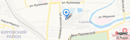 Газторг на карте Астрахани