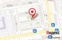Схема проезда до компании Калиевский в Астрахани