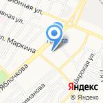 Капелька на карте Астрахани