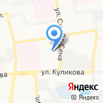 Маяк на карте Астрахани