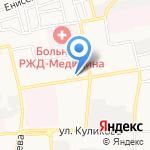 Koketka на карте Астрахани
