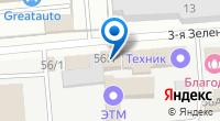 Компания Евростекло на карте