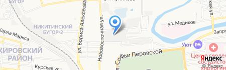 Поволжье-Транс на карте Астрахани
