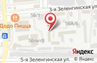 Схема проезда до компании Рыбное изобилие в Астрахани