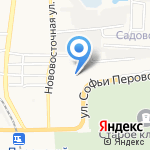 Бонтон на карте Астрахани