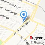 Монтажник на карте Астрахани