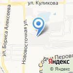 ЭТМ на карте Астрахани