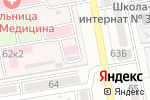 Схема проезда до компании ЛДЦ МИБС-Астрахань в Астрахани