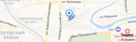 Ритуал-центр на карте Астрахани